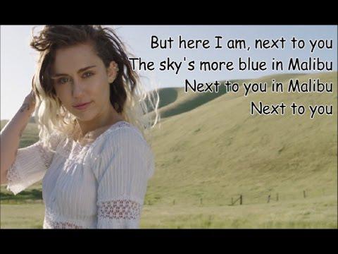 "Miley Cyrus - ""Malibu"" (lyrics) 🏖🌊"