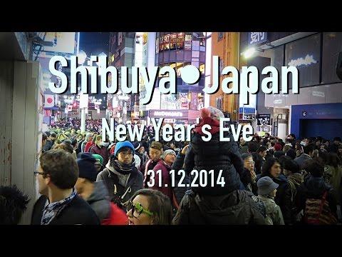 ♡ Vlog #1•2015 Shibuya •Japan - New Years Eve (31.12.20140