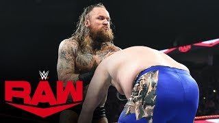 Aleister Black demolishes a local competitor: Raw, Oct. 21, 2019