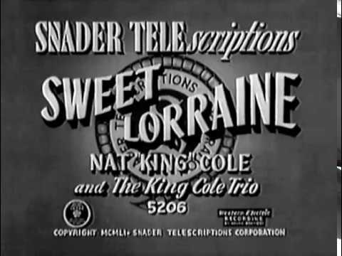 Nat King Cole Swing Era Soundies and Telescriptions