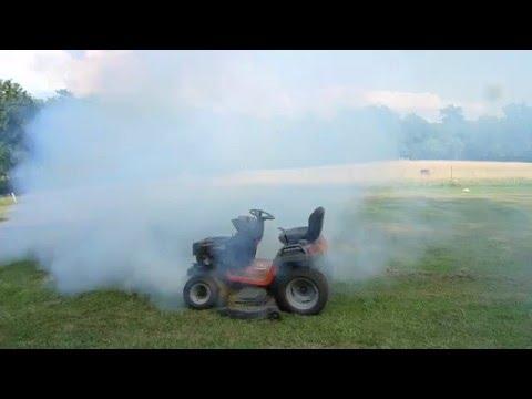 Kohler Courage SV730 Engine smoking, burning oil 1
