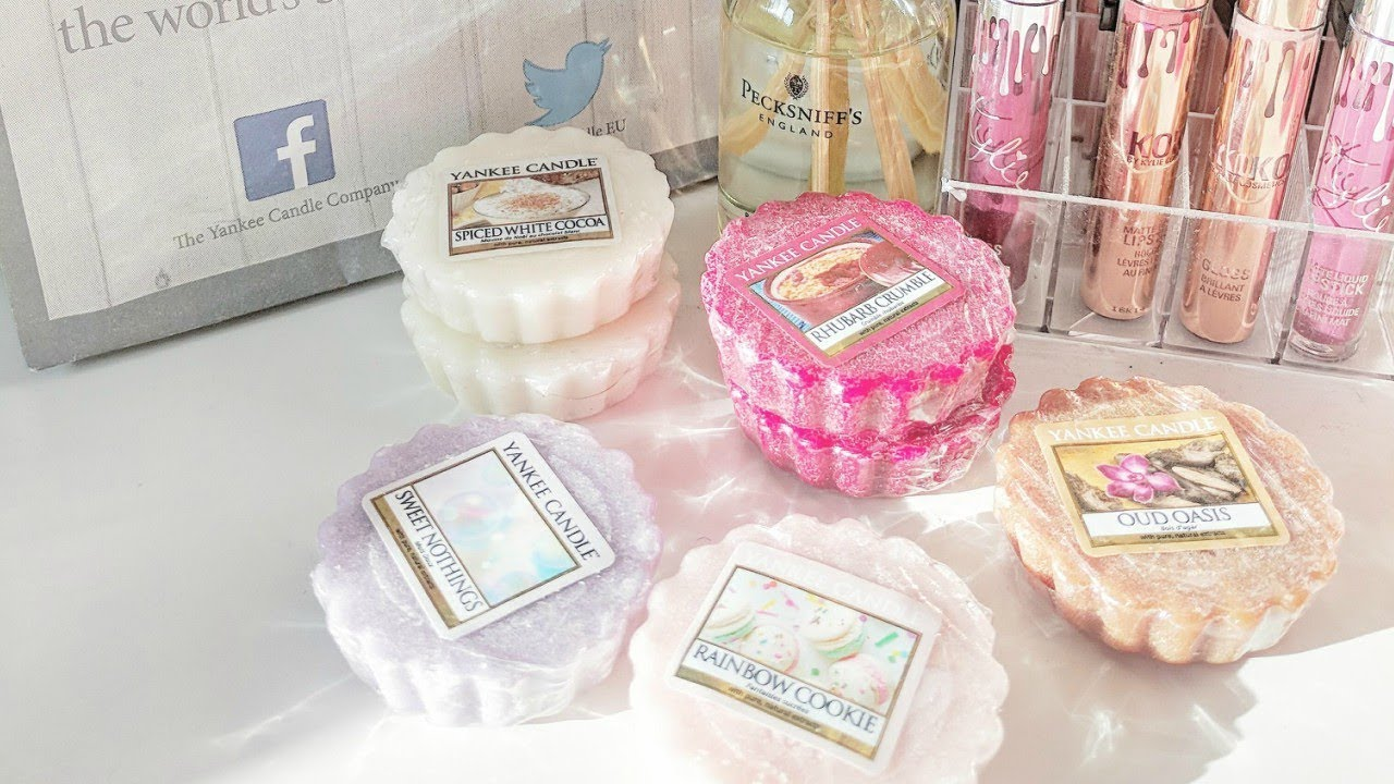 SMALL YANKEE CANDLE HAUL (EASTER / CHRISTMAS) 2018 - wax melts - YouTube