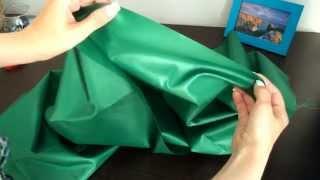 Ткань Оксфорд 200D PU 1000, Зеленый