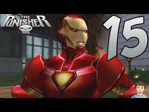 The Punisher Video Game - PART 15 - IRON MAN!!!