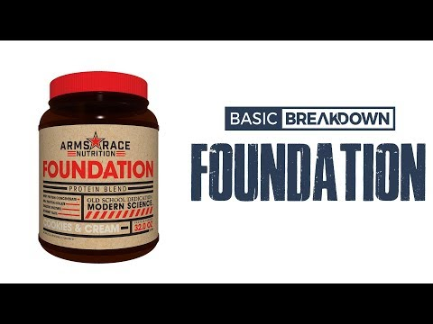 Arms Race Nutrition Foundation Protein Powder Supplement Review | Basic Breakdown