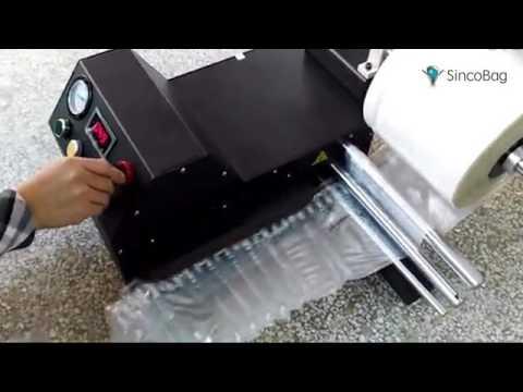 Inflator Pump Machine For Air Column Packaging Bags Roll  ...