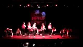 Dangerous Crew (Taranto,Italy) @ Napoli Hip-Hop Festival 2014  1st Place  Cat. Junior