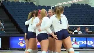 DBU Volleyball Highlights vs  St. Edward