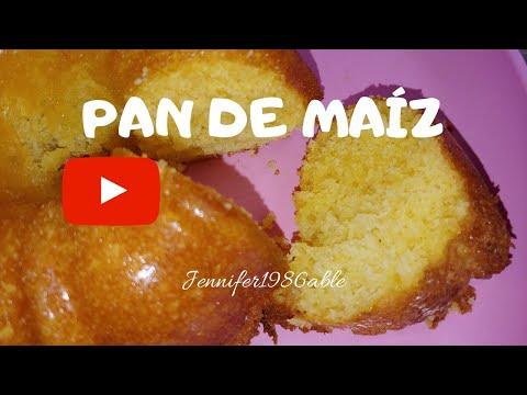Como Hacer Pan De Maíz - YouTube