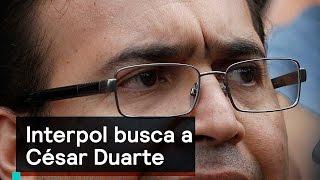 Interpol busca a César Duarte - Corrupción - Denise Maerker 10 en punto - thumbnail