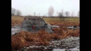 Ледяное болото и два патрола на портальных мостах и колеса 42