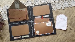 Video 21: Hướng dẫn tự làm Scrapbook/ How to make Handmade Scrapbook (P3)