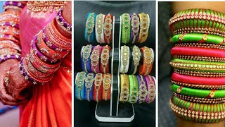 WOW !! 30 Latest silk thread bangles collection | OMG Silk Thread Kangan Images Collection