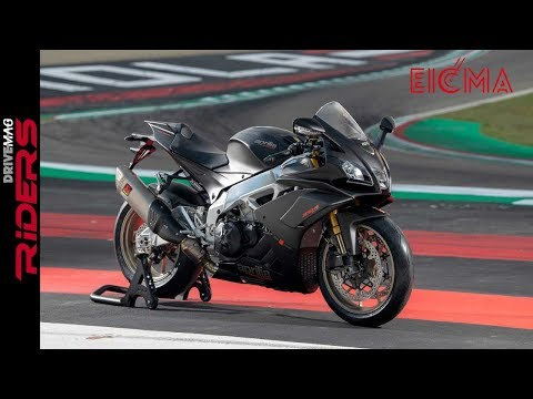 2019 Aprilia RSV4 1100 Factory - Walkaround | Revised Engine & Frame