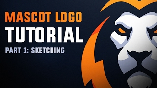 Mascot Logo Tutorial 1 | Sketching with DaseDesigns