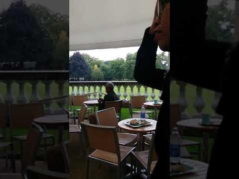 Mama ju di cafe Buckingham Palace.