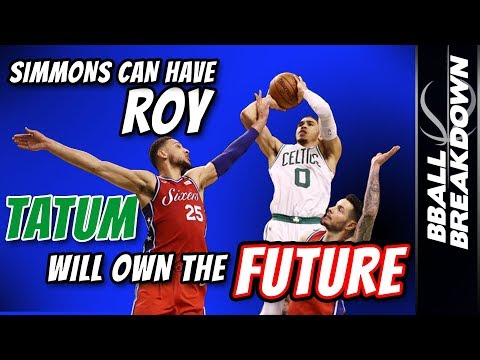 Simmons Can Have ROY, TATUM Will OWN The FUTURE