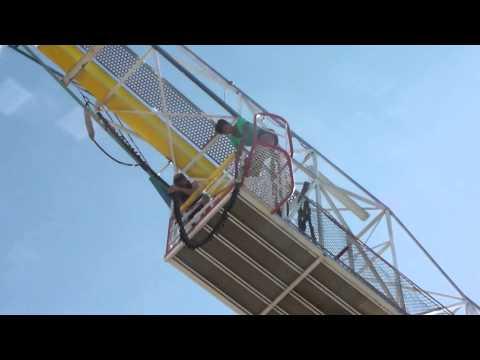 Zero Gravity Theme Park >> Bungee Jumping Zero Gravity In Dallas Texas Youtube