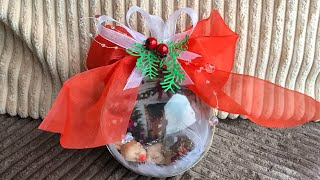 DIY: How to make Christmas ornament with little baby inside for your Christmas tree TUTORIAL