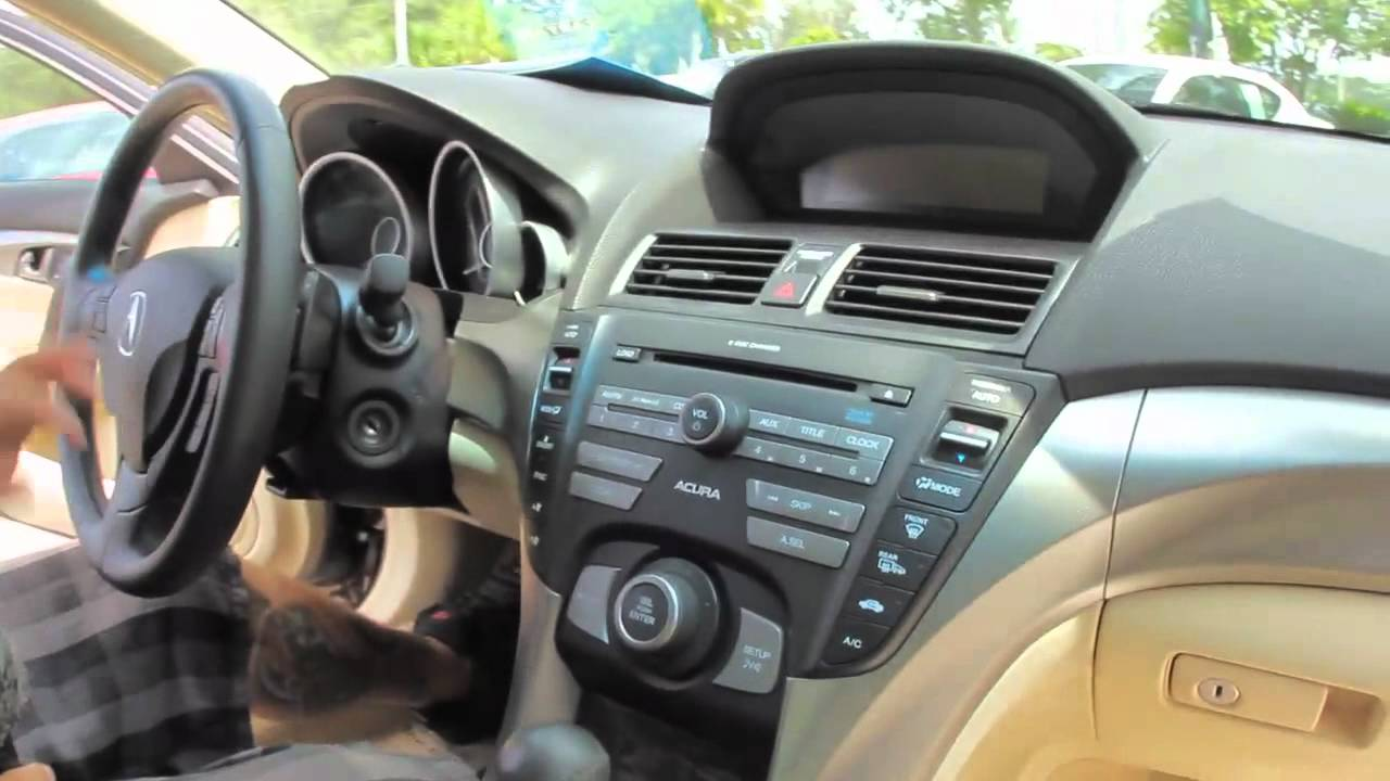 autoline s 2009 acura tl 3 5 walk around review test drive youtube