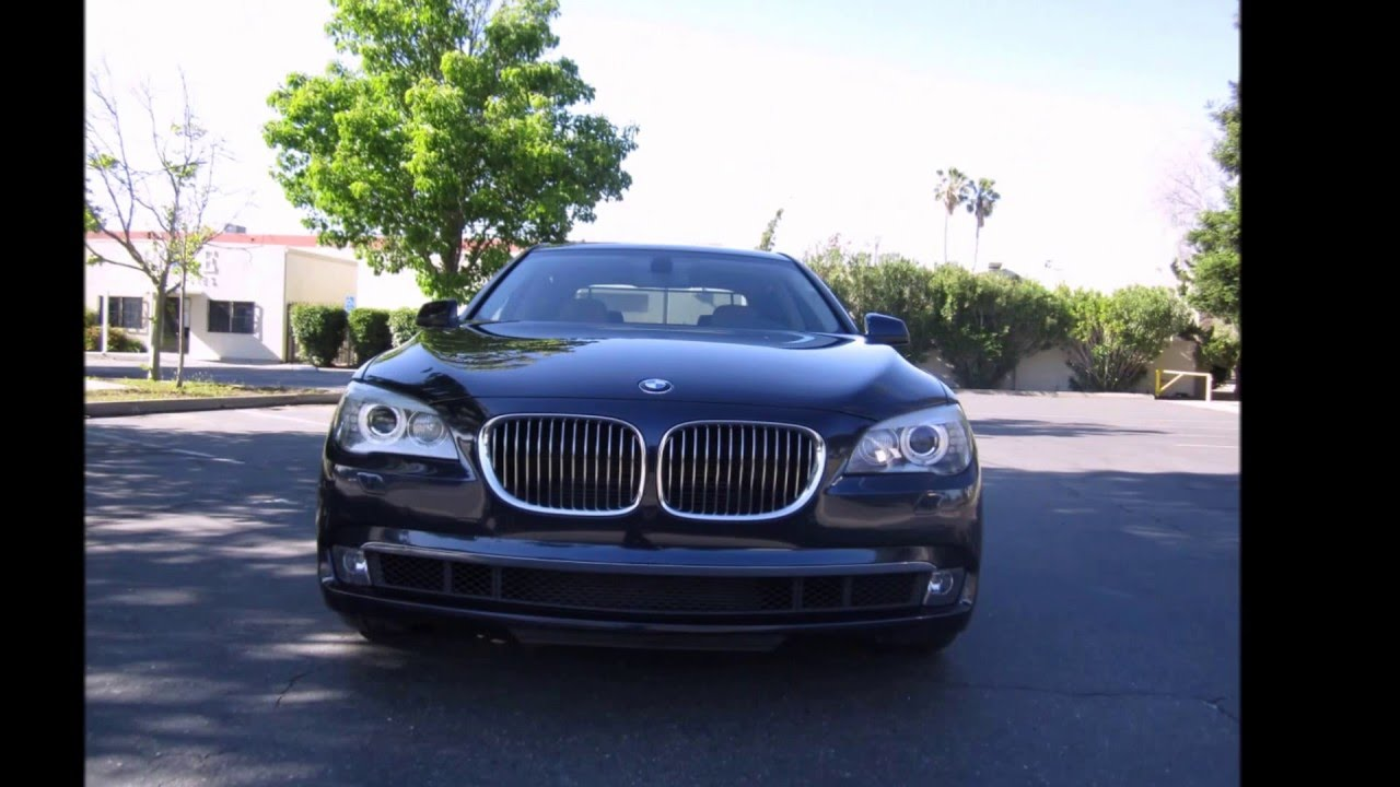 2011 Bmw 740li Review Twin Turbo Youtube