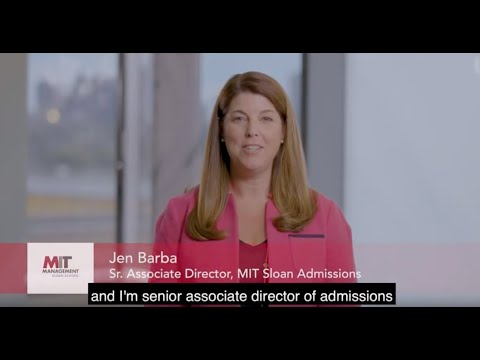 MIT Sloan MBA Application Tips: Letter Of Recommendation & References