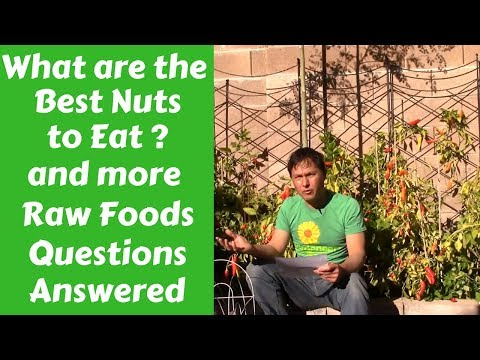 What are the Best Nuts to Eat?  & More Raw Foods Q&A