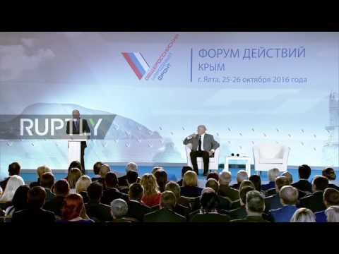 Russia: Efforts made to integrate Crimea into Russia's social and economic environment - Putin