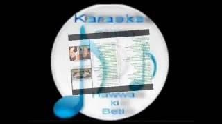 Tukur tukur dekhate ho kya( Masoom )Free karaoke with lyrics by Hawwa -