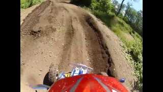 Riding my banshee at X Tring MX Track