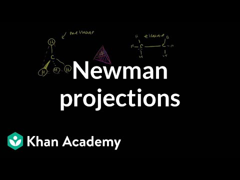 Newman projections | Alkanes, cycloalkanes, and functional groups | Organic chemistry | Khan Academy
