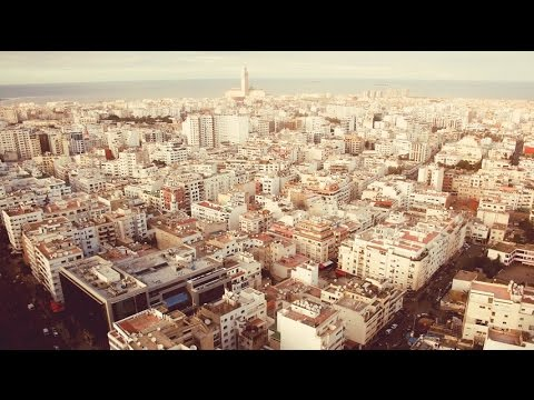 Architecture de la ville blanche - Casablanca