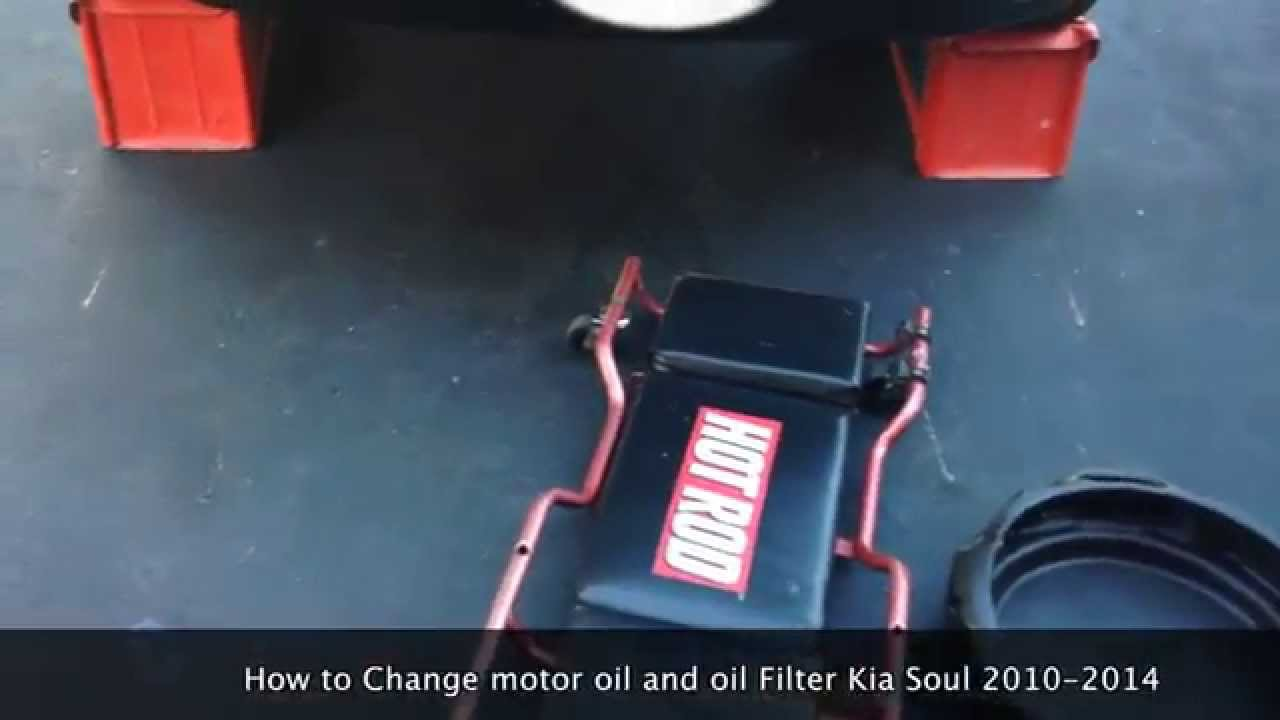 Kia Soul: Oil Pan Installation