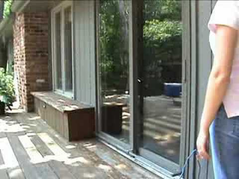 Motorized Sliding-Glass Door & Motorized Sliding-Glass Door - YouTube