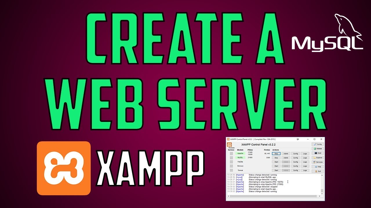 Run a Web Server On Windows (+MySQL)