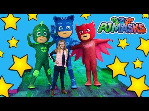 PJ Masks Hide n Seek  with the Assistant at the New York Toy Fair