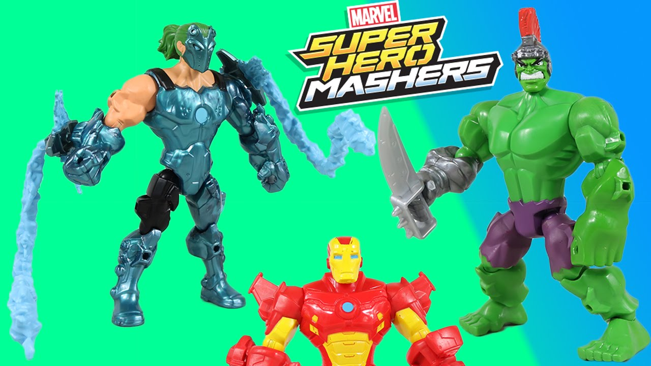Mashers Marvel Man Iron Super Hero