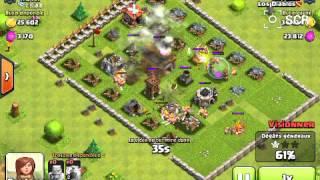 Clash of Clans #8 Une petite attaque