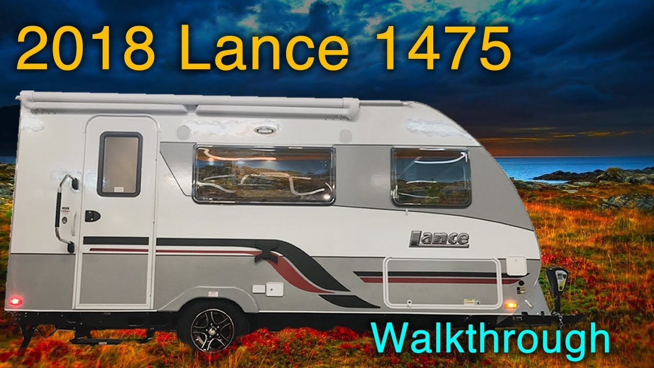 princess craft rv 2018 lance 1475 travel trailer walkthrough with princess 2755