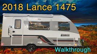 2018 Lance 1475 Travel Trailer Walkthrough with Princess Craft RV
