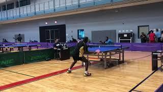 2018 Africans in diaspora Table Tennis championships, Atlanta ,Georgia(Semi final match).