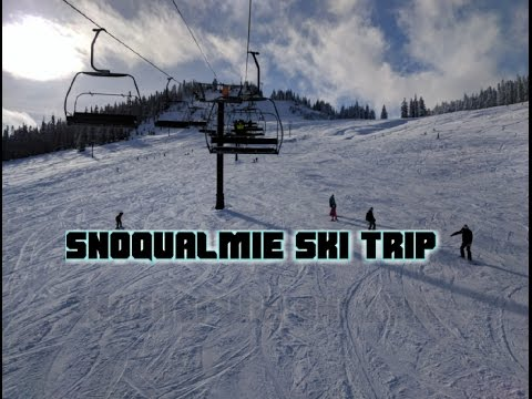 My first time skiing - summit west - snoqualmie
