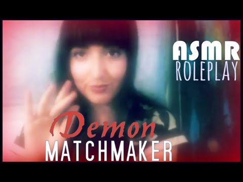 Demon Matchmaker ♥ ❤ ❥  ASMR Roleplay ❤  Typing . Tapping . Page Turning