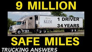 KLLM Transport Honors 9 Million Mile Safe Driver | Trucking Answers