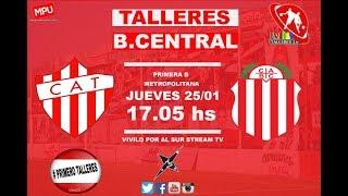 CA Talleres Remedios de Escalada vs Barracas Central full match