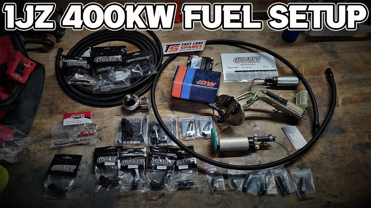 New E85 Fuel System For The JZX100