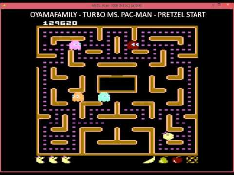 7800 Ms Pacman Turbo Version 338280pts Pretzel Youtube