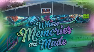 Where Memories Are Made MURAL
