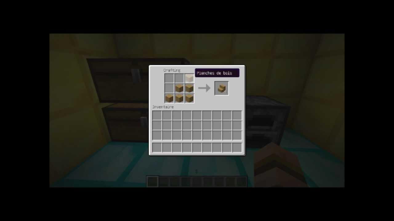Comment faire un escalier dans minecraft youtube - Comment faire un evier dans minecraft ...