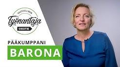 Barona on Oikotie työpaikkojen Vastuullinen työnantaja -kampanjan pääyhteistyökumppani.